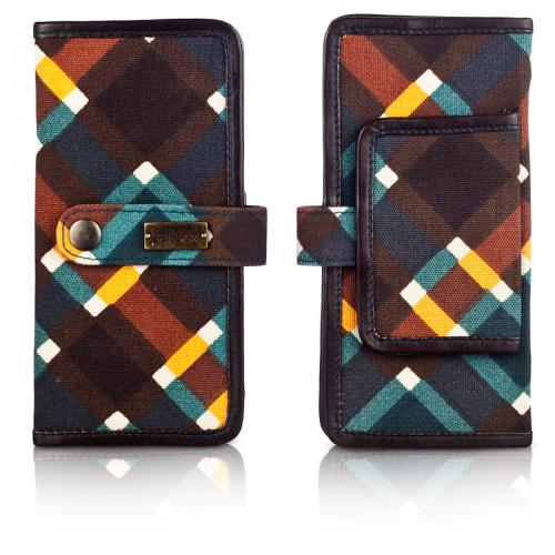 plaid day wallet in spencer
