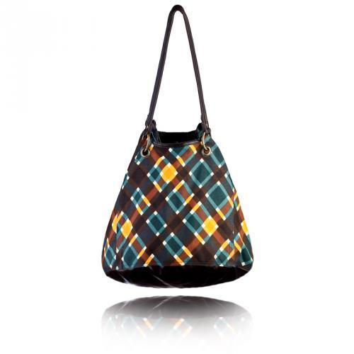 plaid getaway bag in spencer