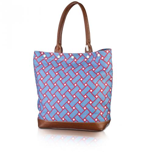 basketweave large tote in nantucket