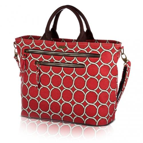 geo carryall in lychee