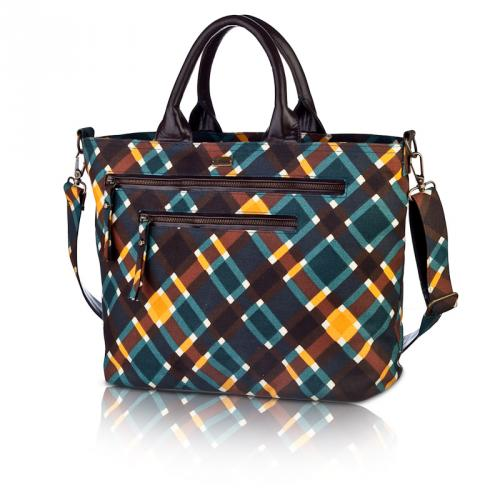 plaid carryall in spencer
