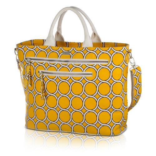 geo carryall in banana
