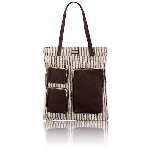 darn-knit pickpocket bag in lichen