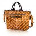 basketweave carryall in squash