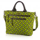 basketweave carryall in tiki