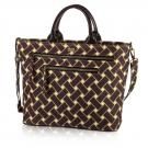 basketweave carryall in vineyard