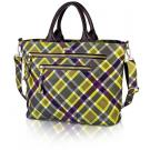plaid carryall in faryn