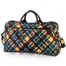 plaid travel bag in spencer