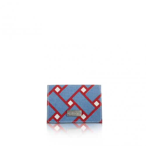 basketweave card holder in nantucket