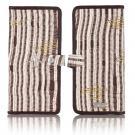 darn-knit travel wallet in lichen